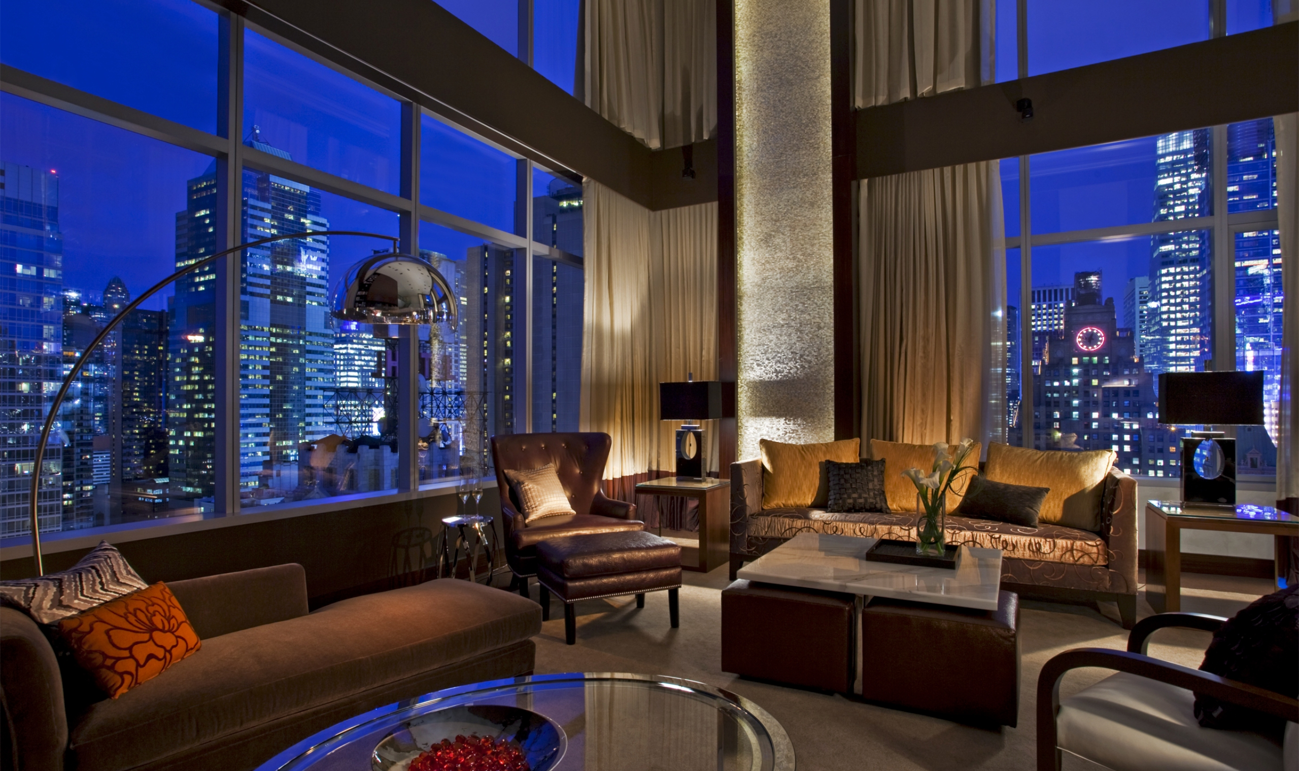 Intercontinental new york times square - Appartementmillions dollars new york ...