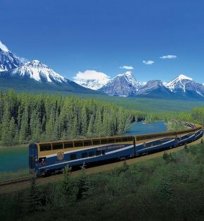 canadian rockies coastal passage rail tour