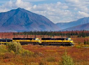 Alaska escorted coach tours