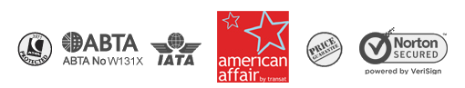 American Affair atol protected, Abta and IATA